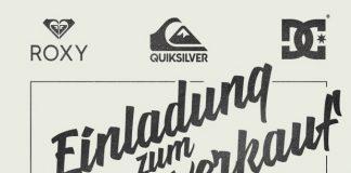 Quiksilver Musterverkauf in München