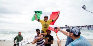 Der Italiener Leonardo Fioravanti ist Juniorenweltmeister 2015!