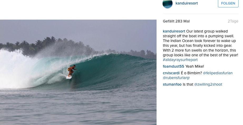 In Indonesien feuerte der Ozean aus allen Rohren.