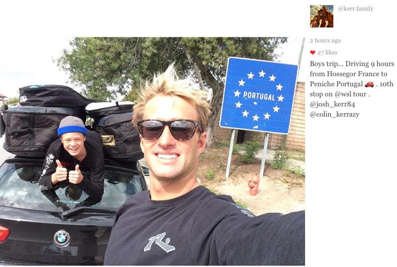 Familienvater Josh Kerr fährt die Streck in neun Stunden.