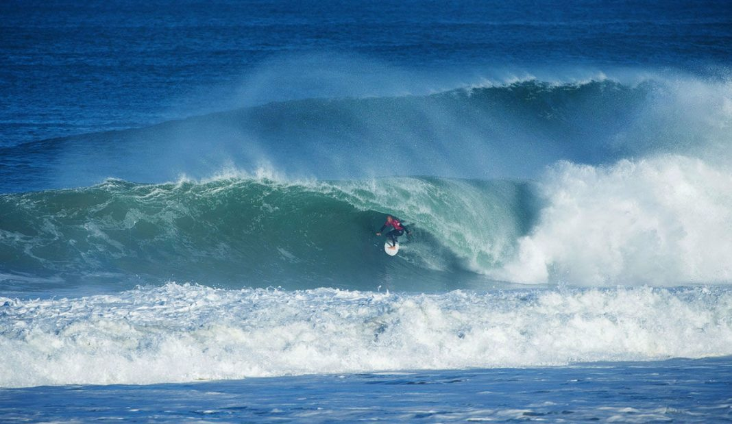 Kelly Slater beim Quik Pro France 2015