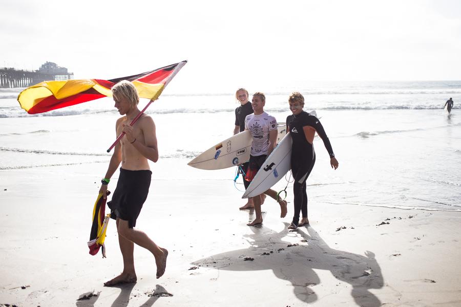 Team Germany. Foto: Chris Grant/ ISA