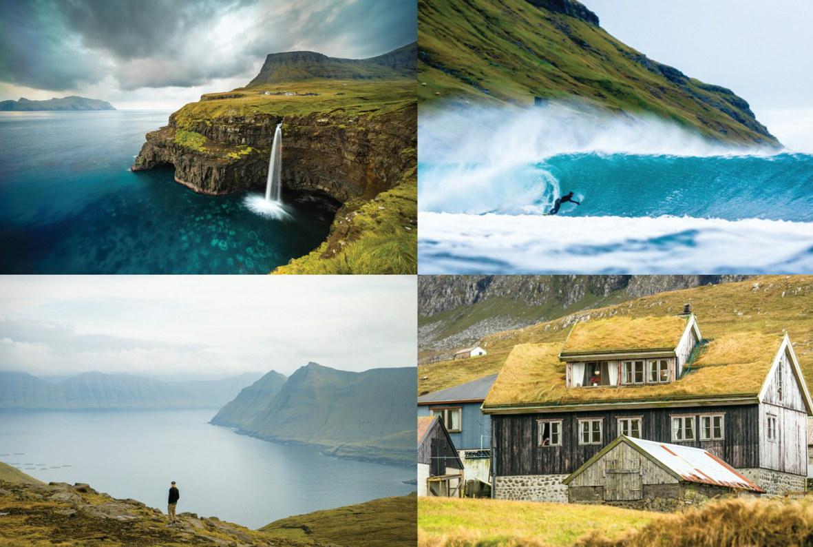 Chris Burkhards neuer Film zeigt Cold Water Surfing auf den Faroer-Inseln.