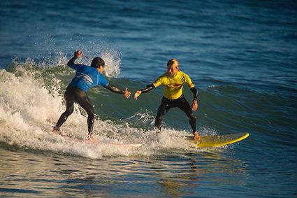 Surfen lernen leicht gemacht – bei First Surf 18+ in Vieux-Boucau!