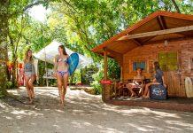 Das Surfcamp Moliets.