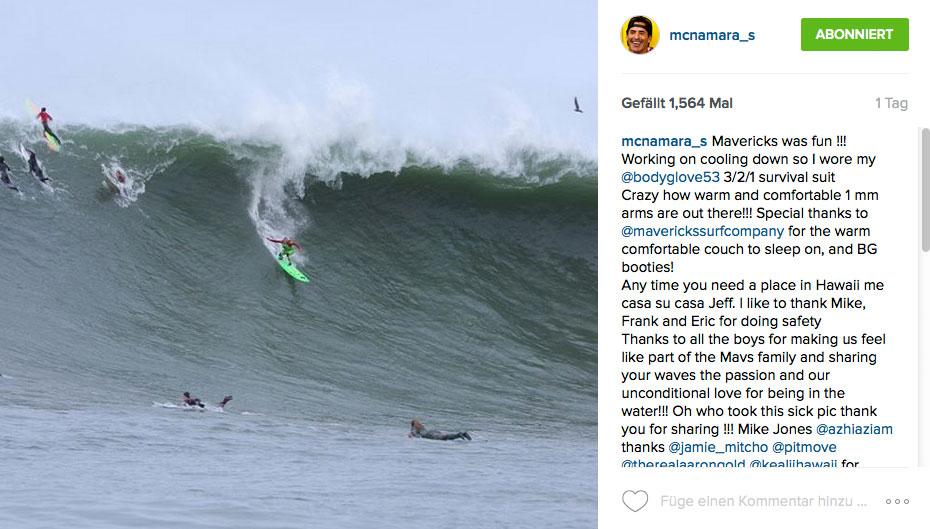 Garrett McNamara lässt seine Wut raus. Er war nämlich ziemlich abgepisst, dass er nicht zur Pe'ahi Challenge eingeladen wurde.