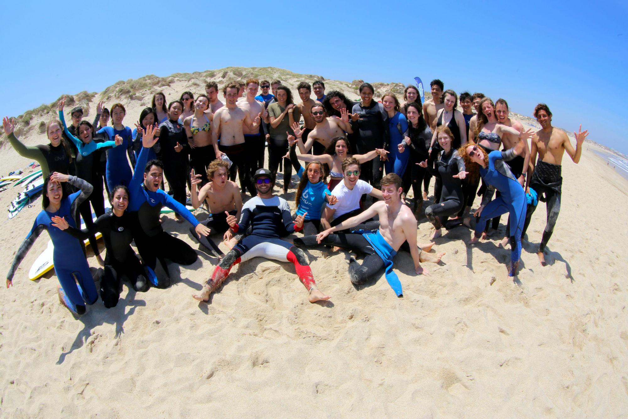 Spaß wird im Maximum Surfcamp Peniche seit 20 Jahren groß geschrieben.
