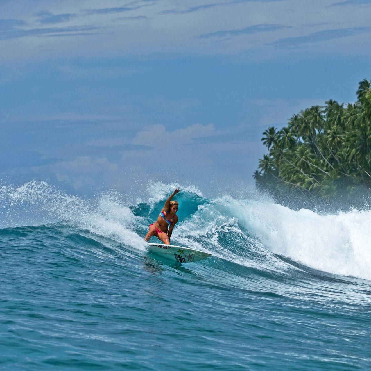 Das Paradies auf Erden für jeden Surfer. Wir haben es für euch gefunden.
