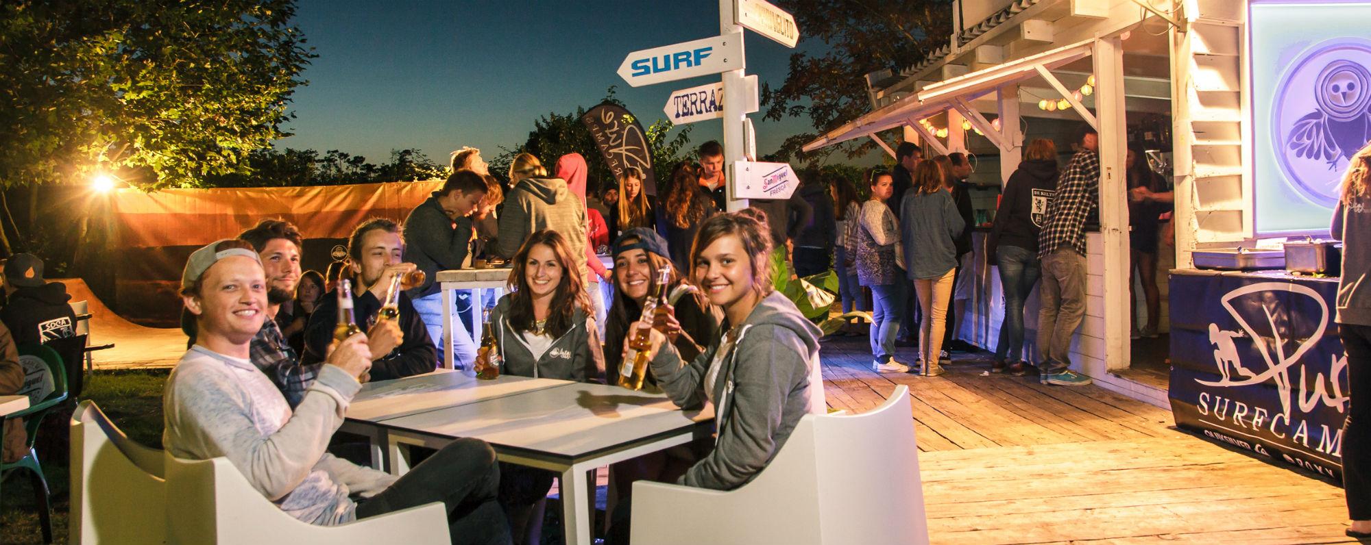 Spaß wird im Surfhouse Santander groß geschrieben.