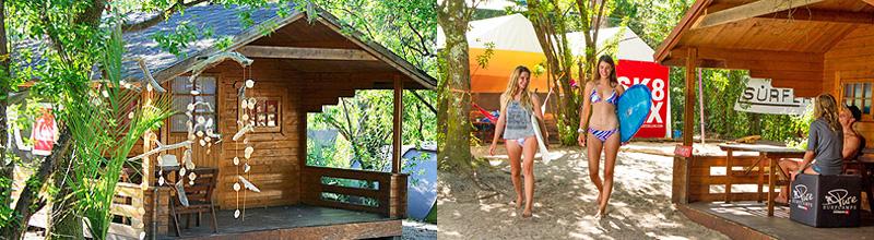 bungalows pure surfcamps