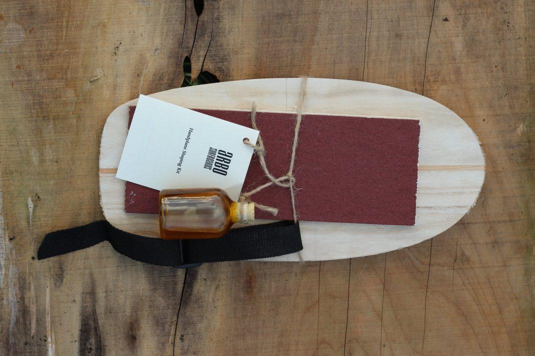 Gewinne ein DIY Handplane-Kit von Arbo Surfboards!
