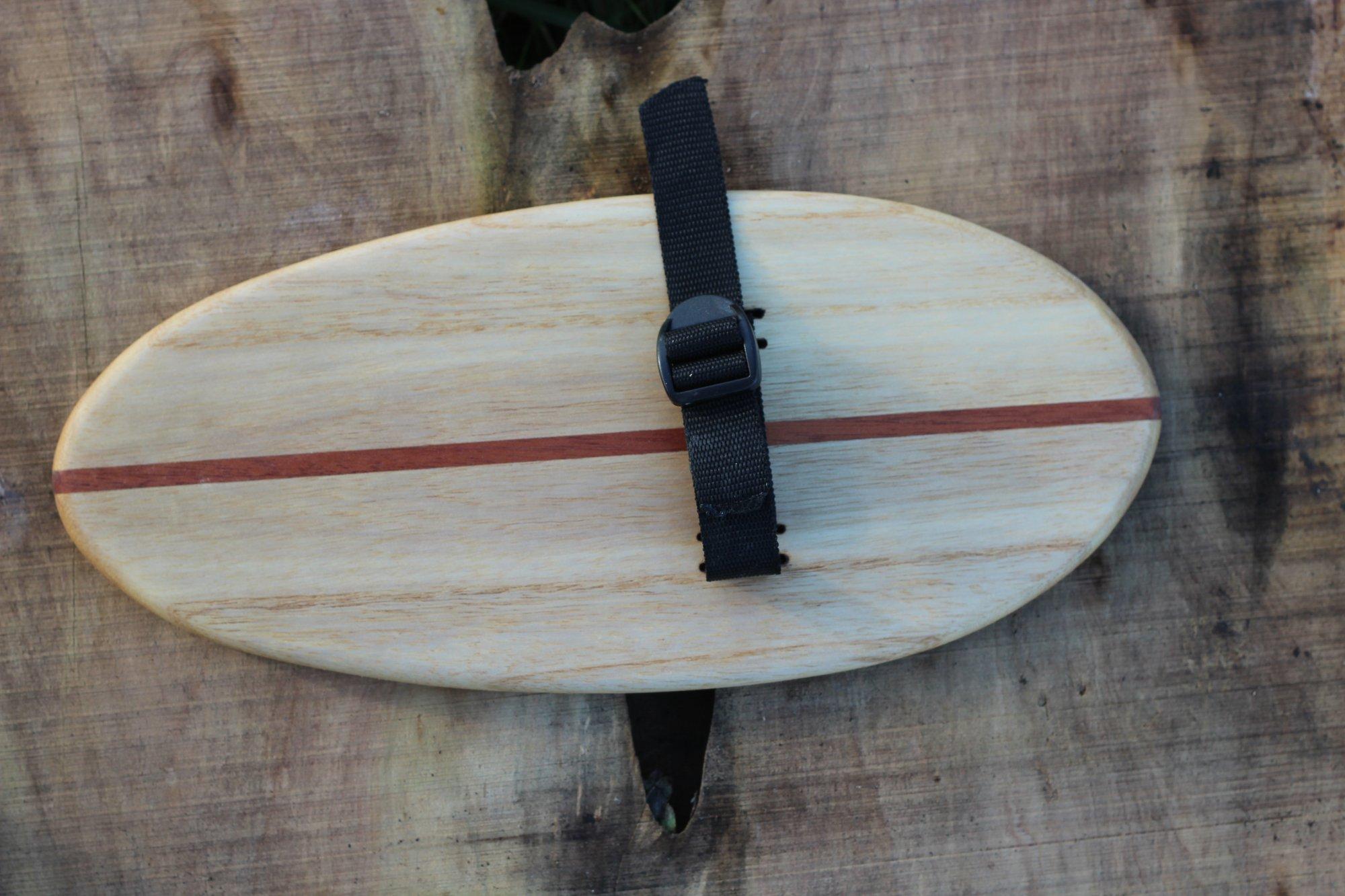So sieht das fertige Handplane von Arbo Surfboards aus!