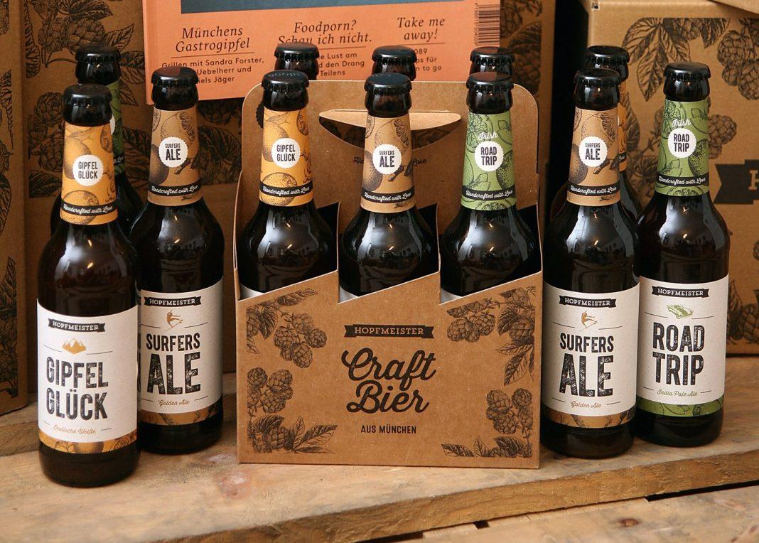 Hopfmeister Bier - bei uns auf der ISPO, solange der Vorrat reicht!!
