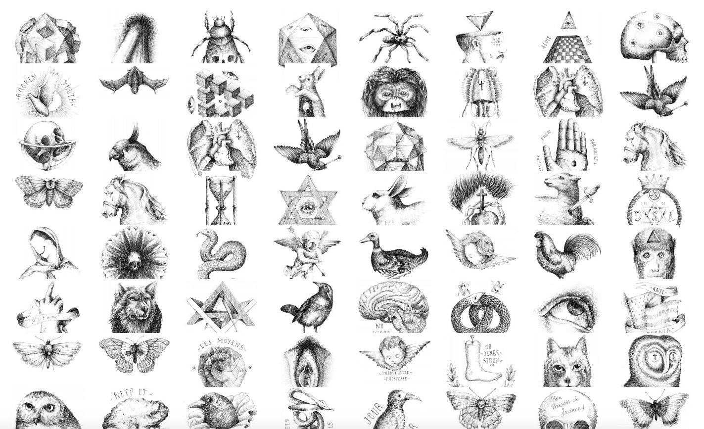 Auch die filigranen Zeichnungen des französischen Künstlers Benjamin JeanJean werden in Hamburg zu sehen sein.