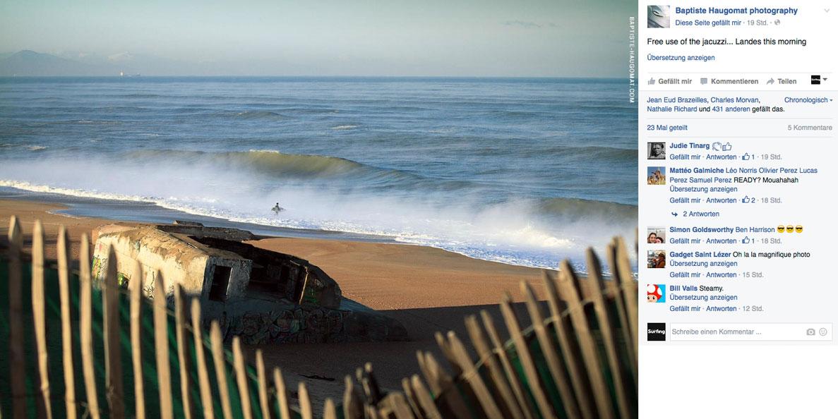 Wenn das Wasser wärmer ist als die Luft, sieht der Atlantik wie ein dampfender Jacuzzi aus.