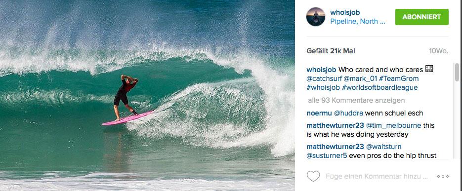 Auf Foamboards in Backdoor oder Surfen im hundsgemeinen Shorebreak von Waimea Bay. Ist Jamie O'Brien vielleicht nur so gut, weil er jeden Tag etwas Neues ausprobiert?