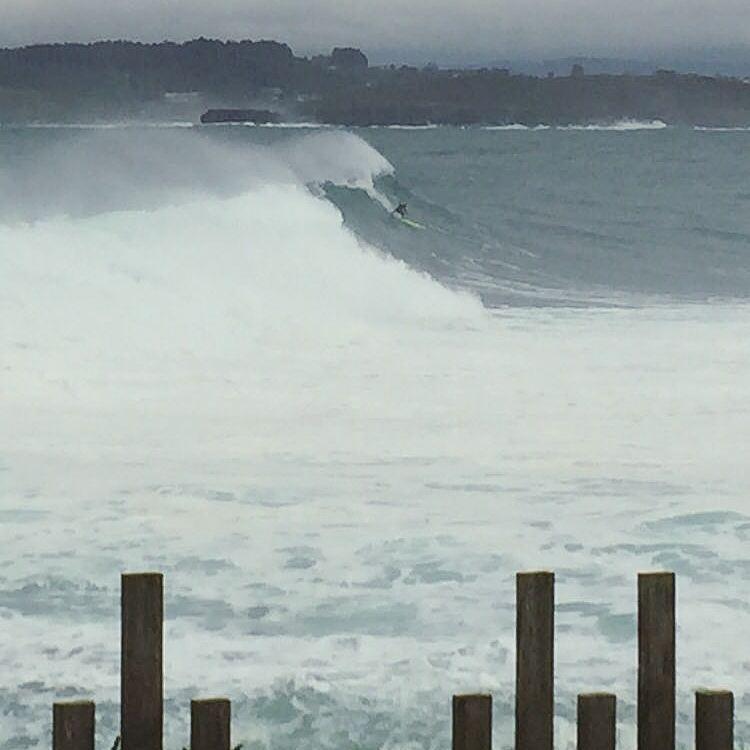 Eine Welle und...