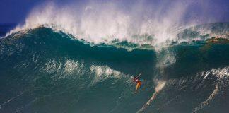 Vielleicht der berühmteste Wipeout aller Zeiten in der Waimea Bay.