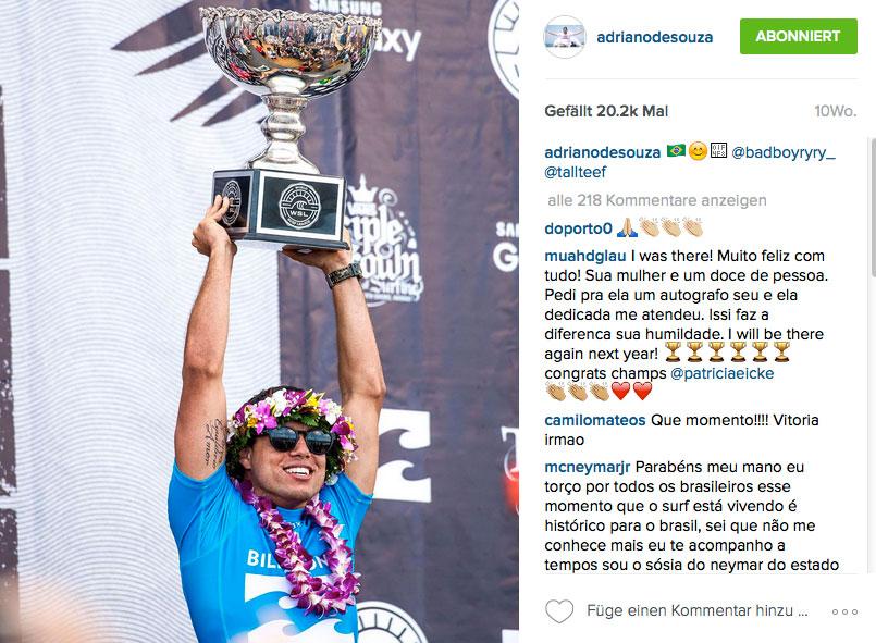 Adriano de Souza treibt schon seit Wochen sein Unwesen auf der Superbank von Snappers. Er überlässt eben nichts dem Zufall und will beim Start des Contests jeden Knick