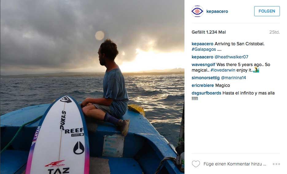 Kepa ist wohl einer der letzten Surfpioniere unserer Zeit. Denn ihm ist wirklich kein Weg zu weit, wenn es darum geht einen neuen Spot zu entdecken.