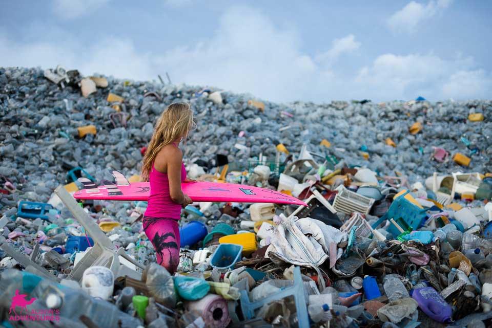 Auf der Insel wird auch nicht der gesamte Müll der Malediven gesammelt, sondern nur der von Malé. Die kleinen Inseln verbrennen ihren Müll selber.