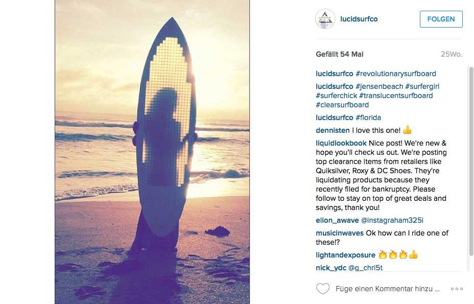 Vielleicht die Zukunft im Surfboardbau.