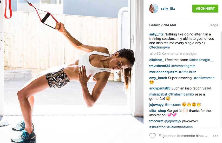 Willst du fit sein, wie Surfprofi Sally Fitzgibbons...