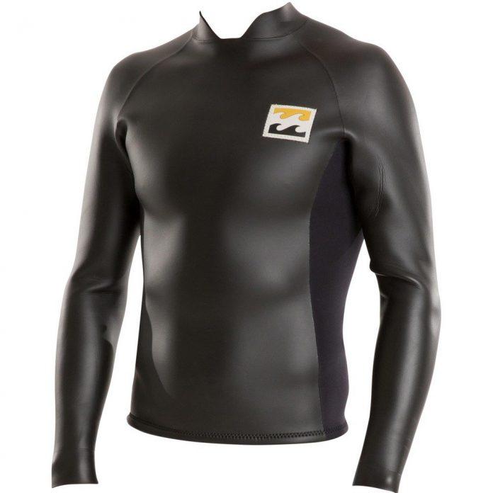 Das Tyler Warren Wetsuit Jacket von Billabong steht für Funktionalität und Retro-Style.