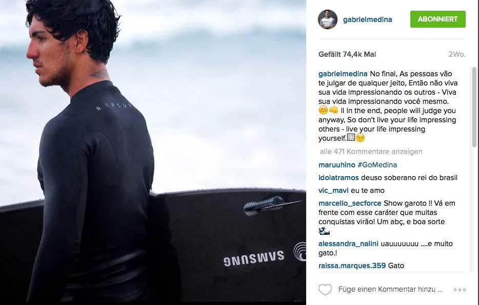 Gabriels Testsession auf dem Board fand am 26. April in Sao Paulo statt. Wie er es fand, ist unbekannt.