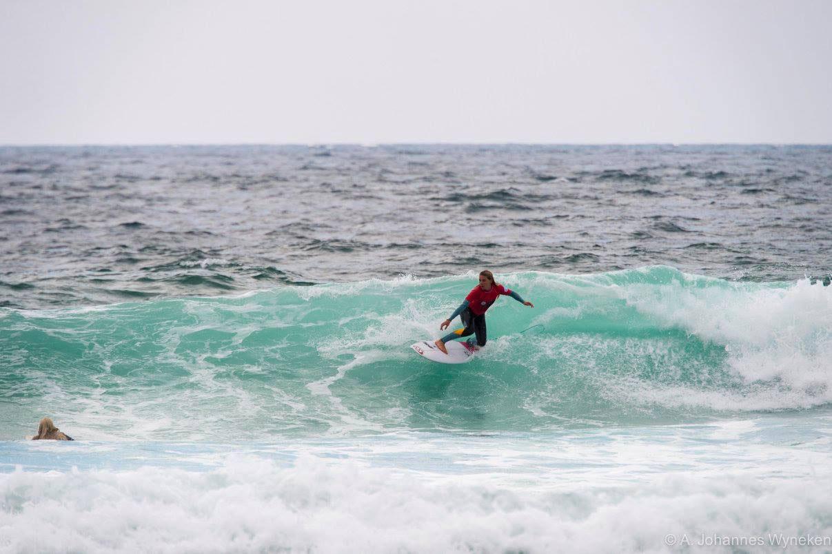Valeska: Direkt von Bells Beach in den Atlantik und weiter auf Platz 1.