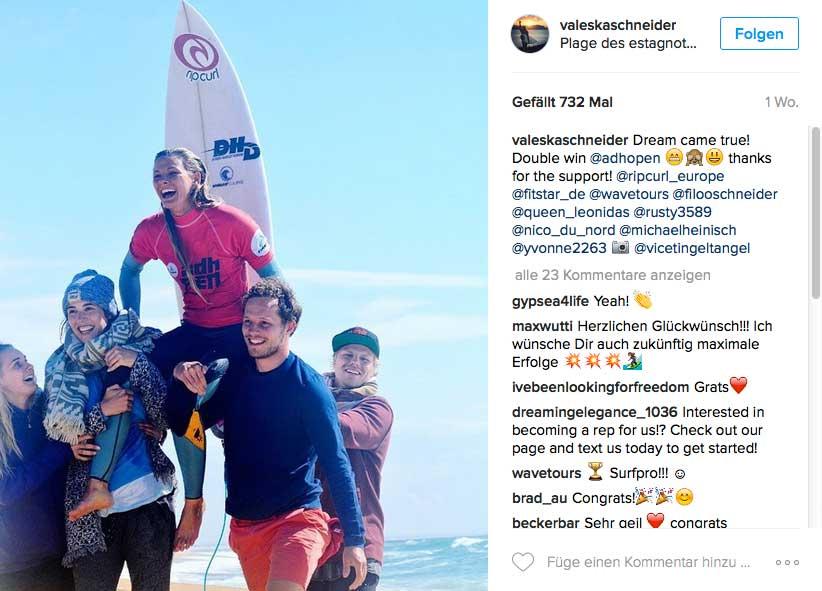 Doppelsieg auf Long- und Shortboard bei den ADH jetzt im Mai. Dafür hat sich sogar die Anreise von Australien gelohnt.