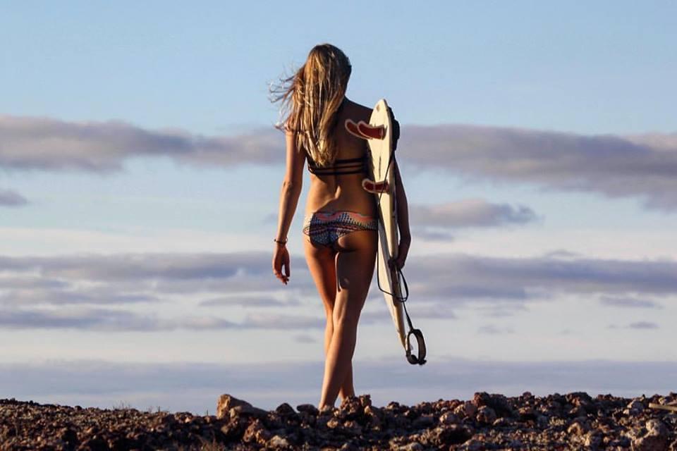Surfbekleidung, wie sie jetzt im australischen Winter rund um Bells Beach nicht mehr zu sehen ist.