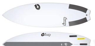 Torq Performance Fish TEC Surfboard 2016
