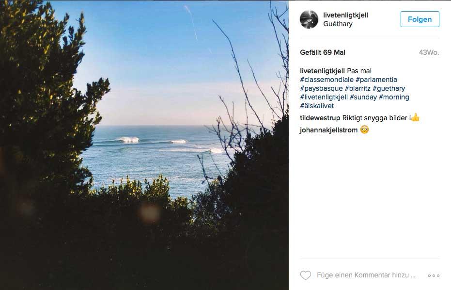 Wenn du Guéthary surfen willst, kann es früh morgens keinen besseren Anblick geben, als diesen.