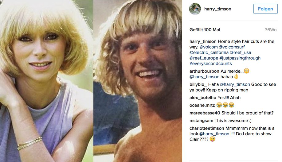 Harry Timsons Haarschnitt ist der heißeste Sch....