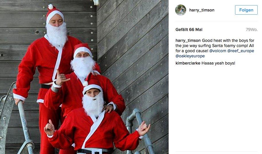 Harry Timson-Santa Clause