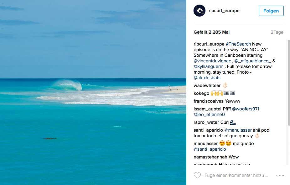 Eine unbewohnte Insel, weißer Sandstrand und erst die Wasserfarbe - was will man mehr?