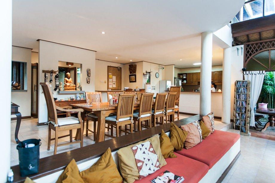 Maximal 12 Gäste wohnen in der wunderschönen Surfvilla.