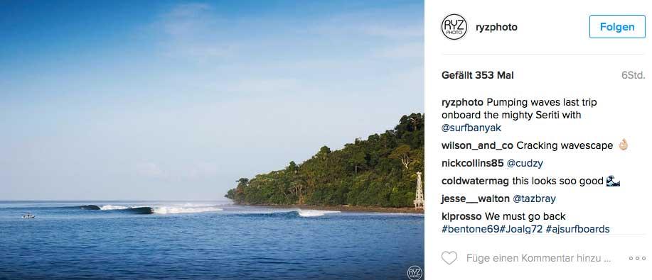 Zugegeben, von den Banyak-Inseln hatten wir noch nicht gehört. Ab jetzt sind sie aber als mögliches Ziel für einen Surftrip abgespeichert.