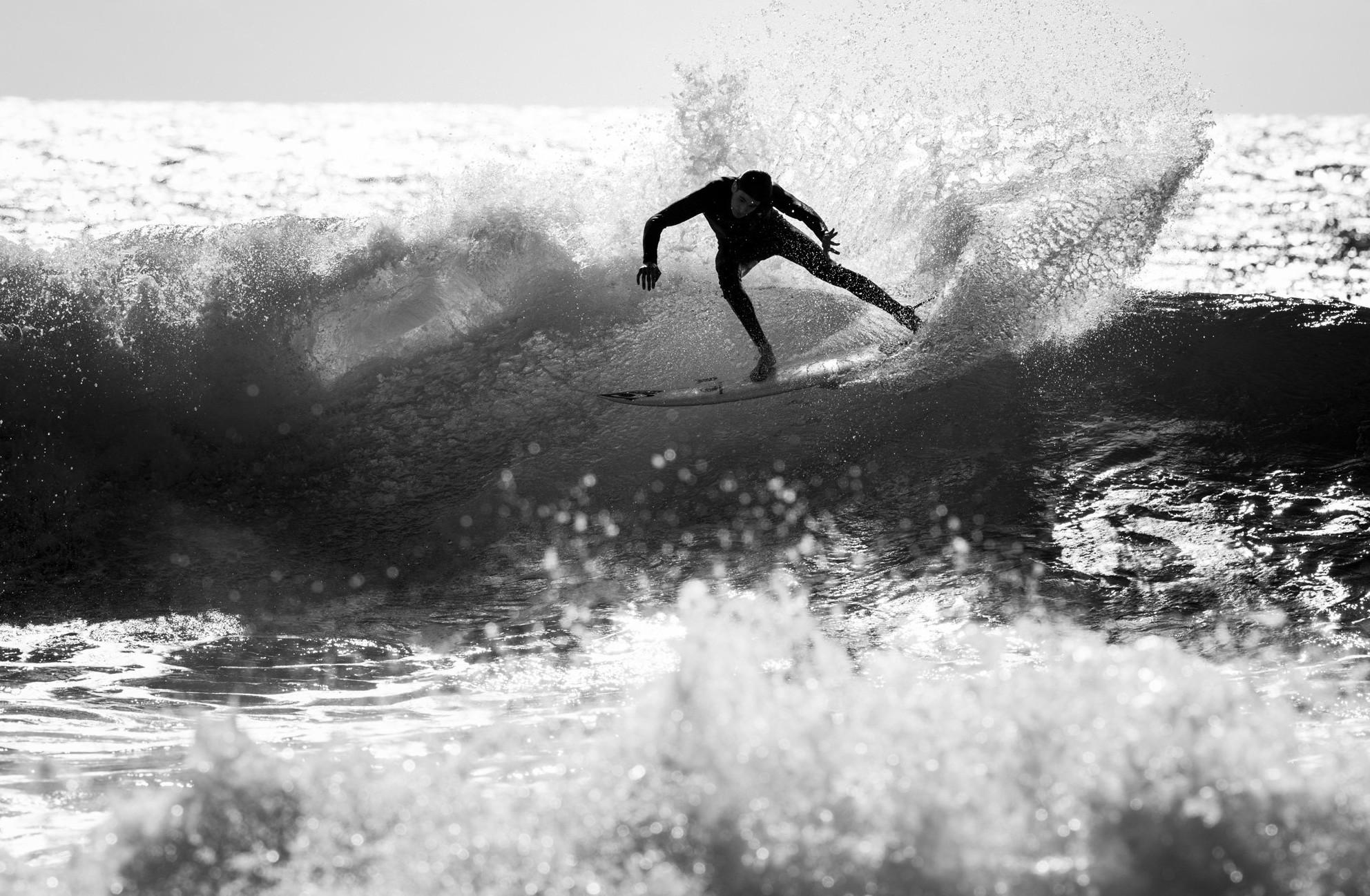 Mit solchen Cutbacks stehen Marcs Chancen nicht schlecht, bei der diesjährigen Surf DM seinen Titel zu verteidigen. Foto: Patrick Steiner Photography