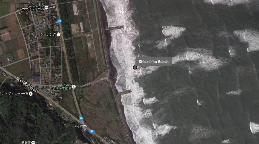 Richtig einladend wirkt der Strand aber nicht auf uns.