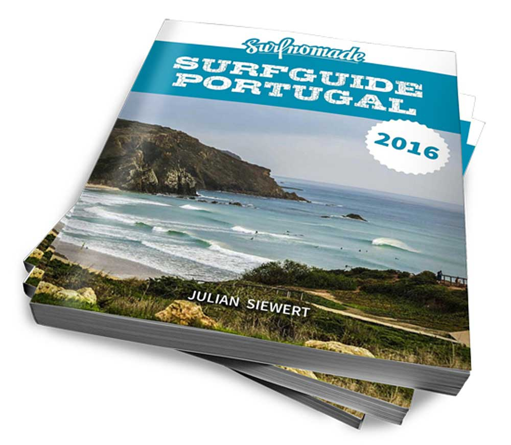 Den Surfguide Portugal gibt es als ebook für 12.99 Euro hier.