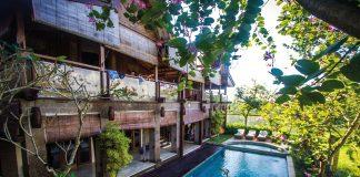 Das Stormrider Surfcamp Bali liegt inmitten von Reisfeldern unweit von Canggu.