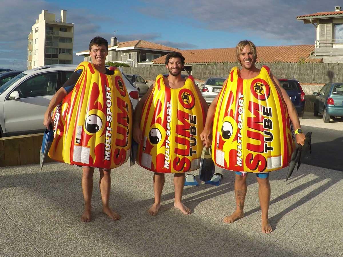 Wir bezweifeln, dass Sumo-Surfing je den Massenmarkt erreichen wird.