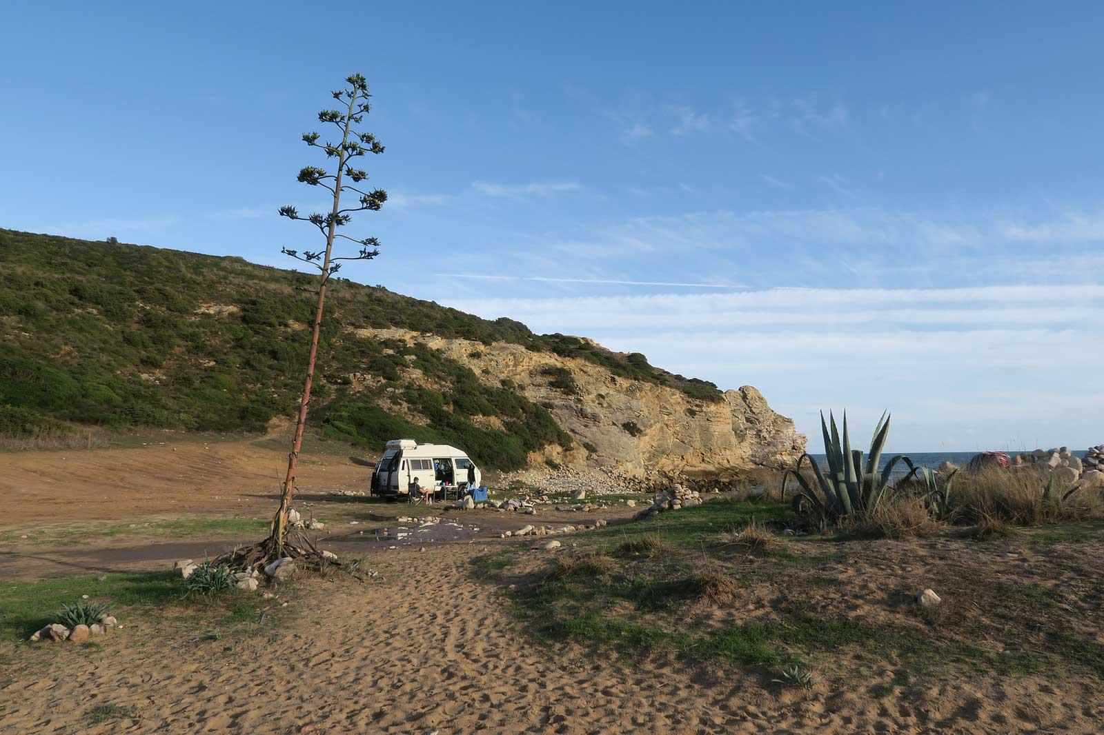 Portugal könnte der Traum jedes Bulli-Campers sein.