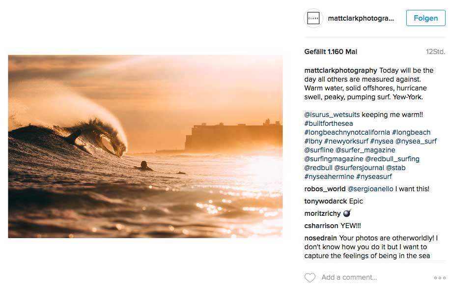 Der Tag, an dem alle anderen guten Surftage in New York gemessen in Zukunft werden? Vielliecht.