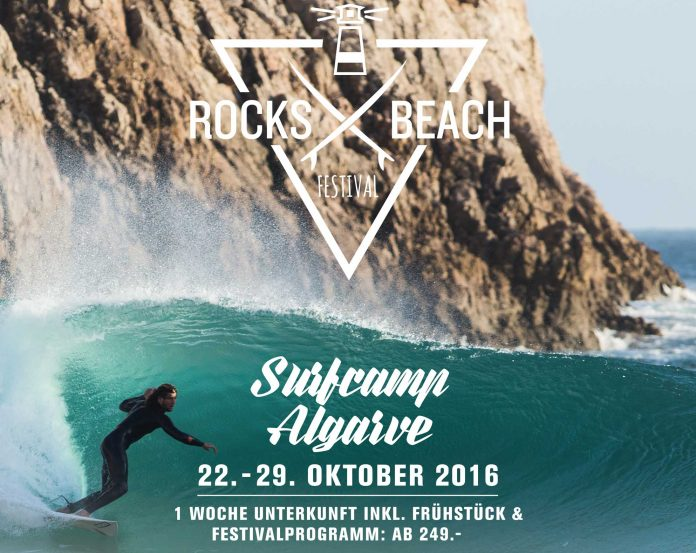 Das 1. Rocks & Beach Festival findet in Portugal statt.