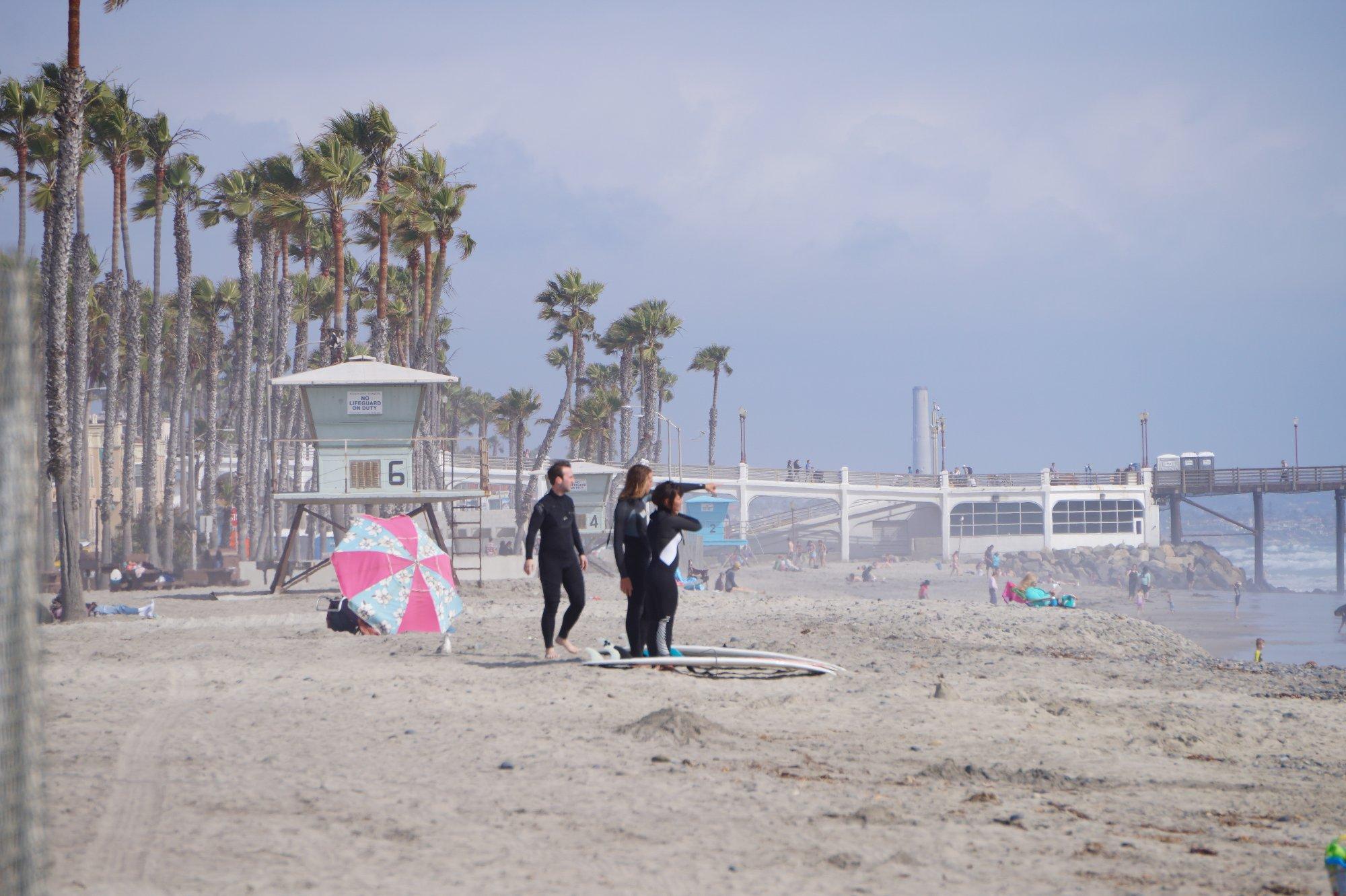 In Kalifornien könnt ihr Surf-Lifestyle und American Way of Life gleichzeitig genießen!