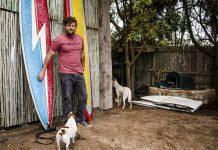 Der südafrikanische Big-Wave-Surfer Seth Pieret.