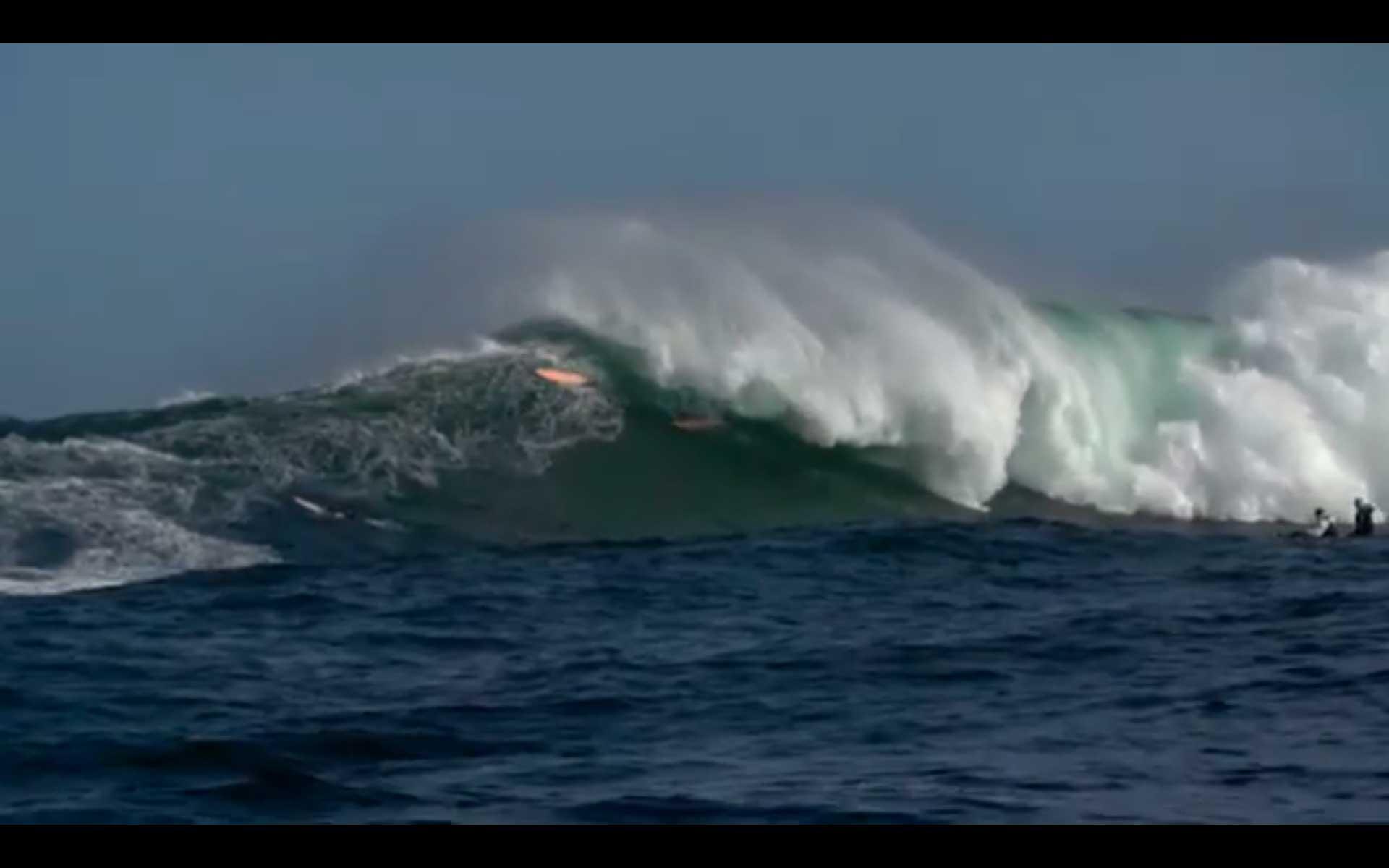 Wer große Wellen surfen will, muss bereit sein den Preis dafür zu zaheln.